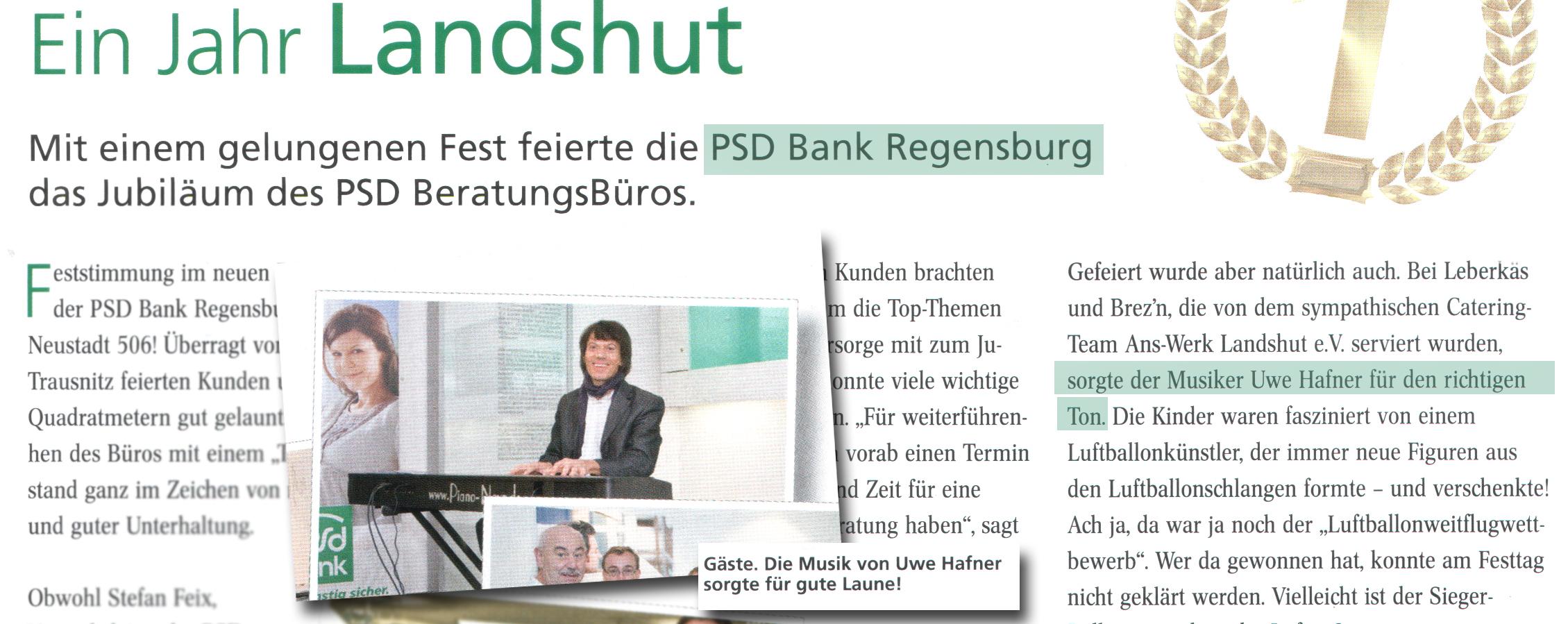 PSD Bank, Landshut