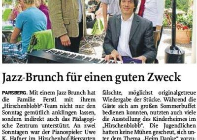 Jazzbrunch in Parsberg